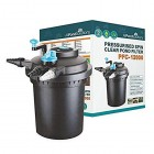 All Pond Solutions Pressurised Koi Fish Pond Filter and UV Steriliser for PFC, 12000 Litre
