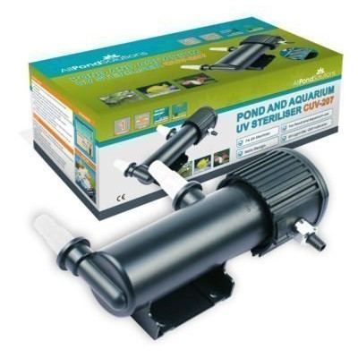 All Pond Solutions UV Light Steriliser Clarifier Filter, 7 W