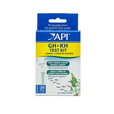 API GH & KH TEST KIT Freshwater Aquarium Water Test Kit 1-Count