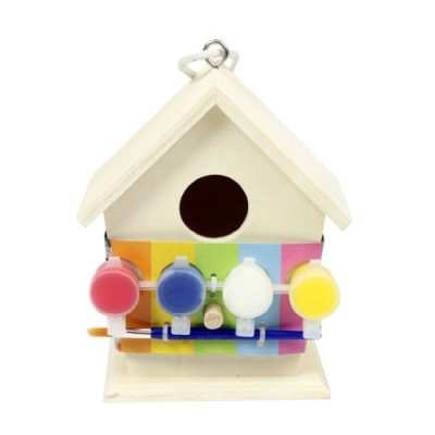 Art And Craft Paint Your Own Wooden Bird House
