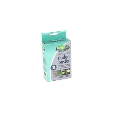 Blagdon Pond Sludgebuster, Each Sachet Treats 500 Gallons of Pond Water (Pack of 4)