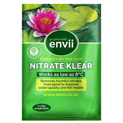 Envii Nitrate Klear - Pond Nitrate Remover - Treats 12,000 Litres