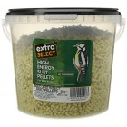 Extra Select High Energy Insect Suet Pellets Wild Bird Treat Tub, 3 kg