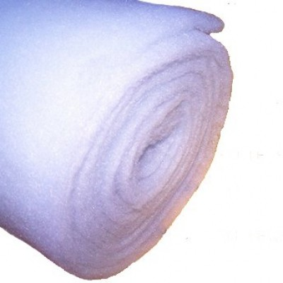Finest-Filters 5 Metre Roll of 12-15mm Filter Wool / Floss for Aquarium and Pond Filters
