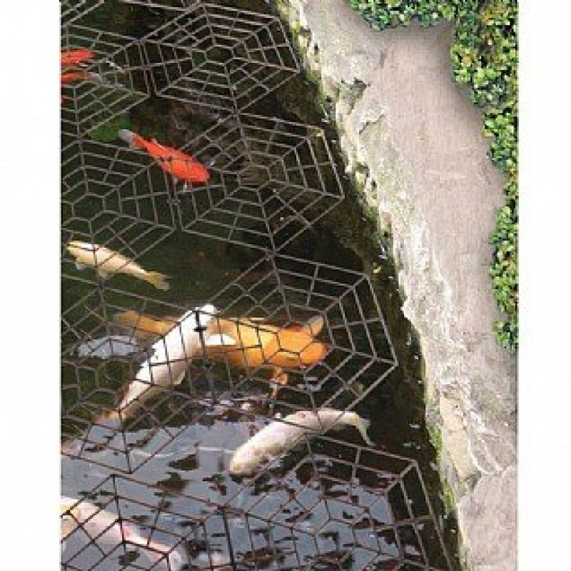 Good ideas pondguard fish pond net protection interlocking for Fish pond protection