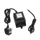 12V AC Low Voltage Outdoor Lighting Transformer 10w - Waterproof - IP68