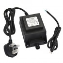 12V AC Low Voltage Outdoor Lighting Transformer 150w - Waterproof - IP68