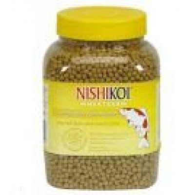 NishiKoi Wheatgerm winter koi food Medium Pellet 650g