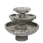 Primrose Ambiente Solar Cascade 3-Tier Fountain Water Feature