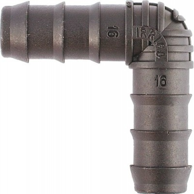 IRRIGA® Automatic watering connector - fitting: 13mm elbow (pack of 10), barbed connector for irrigation pipe