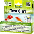 Tetra Pond Test 6-in-1 Strip, to Test 6 Essential Water Quality Parameters in Less Than 60 Seconds (25 Strips)