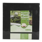 velda 127577 Floating planting island for the pond, diameter 25 cm, Square, Floating Plant Island