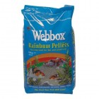 Webbox Complete Rainbow Mixed Pond Pellets Fish Food, 10 kg