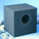 "POND FILTER FOAM CUBE PRE-FILTER FOR POND PUMPS 8"" OFF-SET"